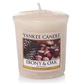 Ebony & Oak Votive