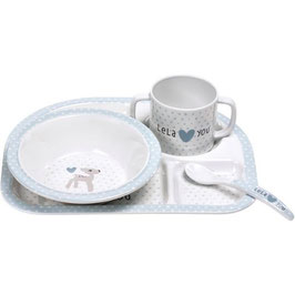Lassig Dish Set Lela Light Blue