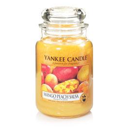 Mango Peach Salsa Larg Jar