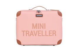 Childhome Mini Traveller Kinderkoffer - Roze Koper