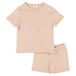 Trixie Pyjama Short Lemon Squash