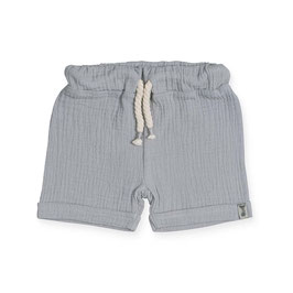 Jollein Short Cotton Wrinkled Grey