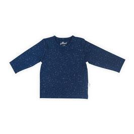 Jollein Shirt Lange Mouw Speckled Blue