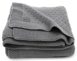 Jollein Deken 75x100cm Bliss Knit Storm Grey