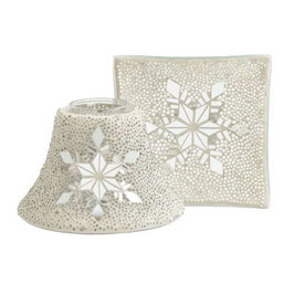 YC Shade & Tray Sparkling Snowflake Large/Medium