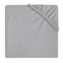 Jollein Hoeslaken Jersey 40x80 cm Soft Grey