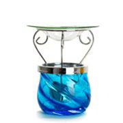 Paradise Mosaic Melt Warmer Blue