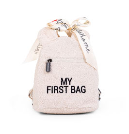 Childhome My First Bag Kinderrugzak - Teddy Ecru