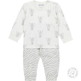 Dirkje Bio Cotton Pyjama Zebra