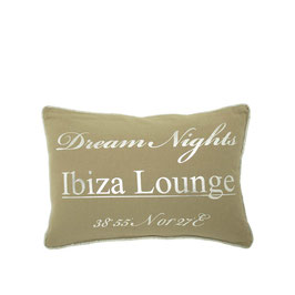 Kussen Ibiza Beige Dream Nights