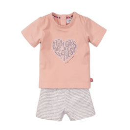 Dirkje 2 pce babysuit shorts