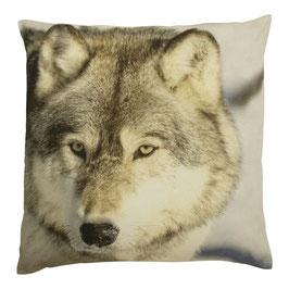 Kussen Winter Wolf