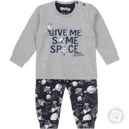 Dirkje Bio Cotton Pyjama Space