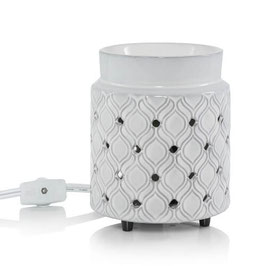 Yankee Candle Addison Electric Melt Warmer Punched Ceramic