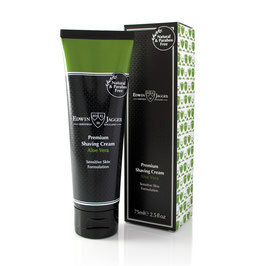 EJ Skin Care, Premium Shaving Cream, Aloe Vera, 75 ml