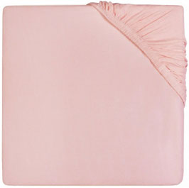 Jollein Hoeslaken Jersey 40x80 cm Soft Pink