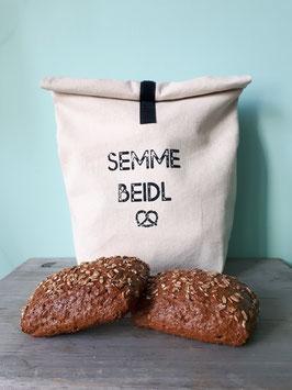 Semmebeidl / Nachhaltiger Einkaufsbeutel für Brot