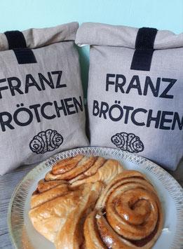 Franzbrötchentüte / Nachhaltiger Einkaufsbeutel
