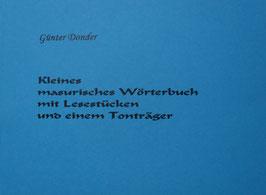 Kleines masurisches Wörterbuch mit CD