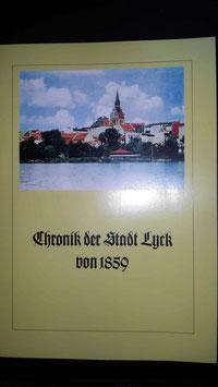 Chronik der Stadt Lyck von 1859