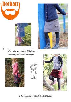 Der Cargo Rock für Mädchen 104-164
