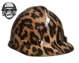 LEOPARD PRINT CAP - MADE TO ORDER