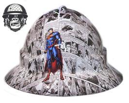 SUPERMAN COMIC WIDE BRIM - MADE TO ORDER