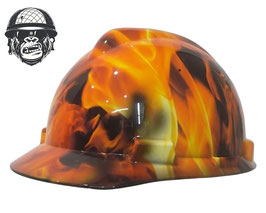 FLAMES CAP - MADE TO ORDER