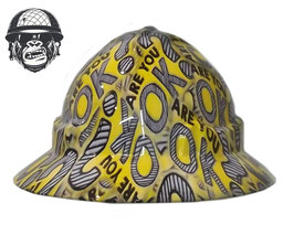 ARE YOU OK? WIDE BRIM - MADE TO ORDER