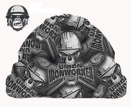 UNION IRONWORKER CAP - MADE TO ORDER - NEW DESIGN