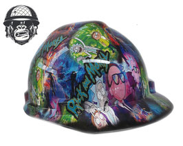 RICK & MORTY CAP - MADE TO ORDER