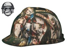 HARLEY QUINN CAP - MADE TO ORDER