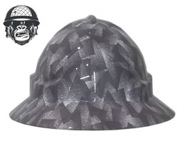 GEO DOTS WIDE BRIM - MADE TO ORDER