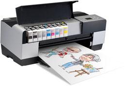 Hochwertiger Print A4 farbig oder s/w