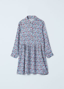 Pepe Jeans kurzes Kleid mit Blumendruck