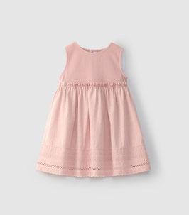 Ärmelloses Laranjinha Kleid in Pink