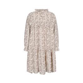 Petit Sofie Schnoor Kleid mit Blumenmuster in Off white