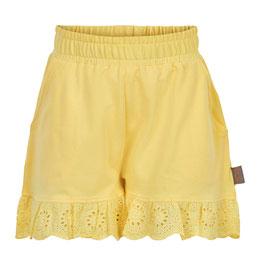 Süße Creamie Shorts in Sonnengelb