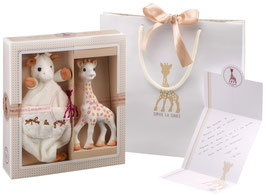 Sophie la girafe Geschenkset Birth Set medium No. 1