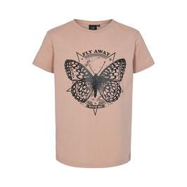 Petit Sofie Schnoor T-shirt Felina Schmetterling in Light Rose