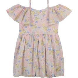 Schulter freies Kleid von Carrément Beau, florale Print