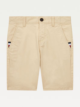 Essential Slim TH Flex Chino-Shorts in Misty Beige