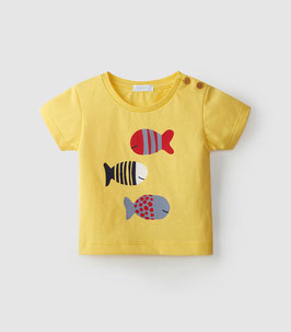 Süßes Laranjinha T-Shirt in light Yellow