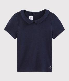 Petit Bateau kurzärmliges Kinder-T-Shirt aus Baumwolle für Mädchen