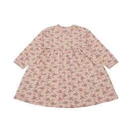 Petit Sofie Schnoor langärmliges Baby Kleid in Light rose