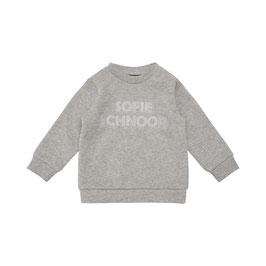 Petit Sofie Schnoor Baby Sweatshirt in Grey melange