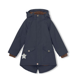 Mini A Ture Funktions-Parka Vibse in Blue Nights