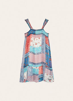 PEPE JEANS PATCHWORK KLEID