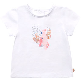 CARRÉMENT BEAU Kurzarm Shirt mit Papagei Print