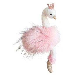 Stofftier Schwan rosa 30 cm oder 45 cm
